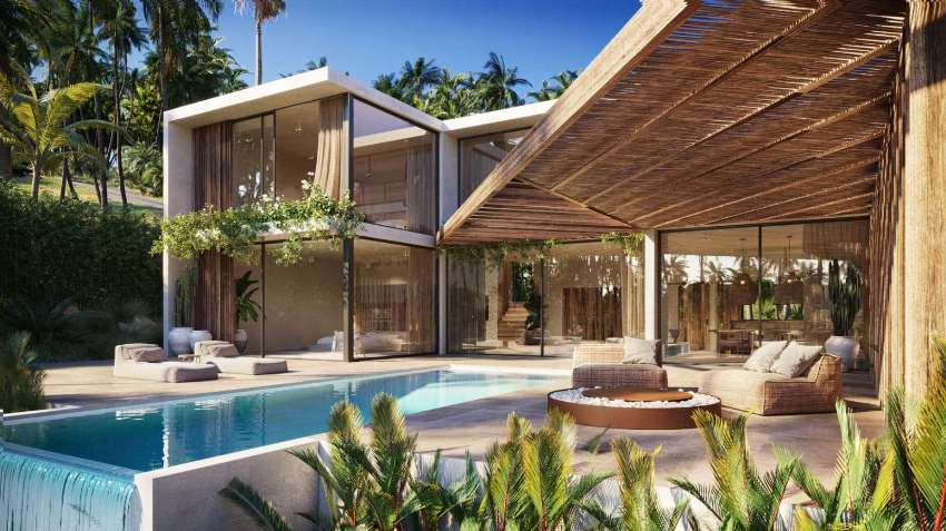 Villa 3 bedrooms with sea view for sale in Chaweng, Koh Samui