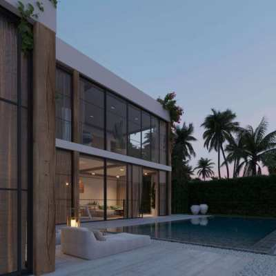 Villa 3 bedrooms with sea view for sale in Chaweng Noi, Koh Samui, Tha