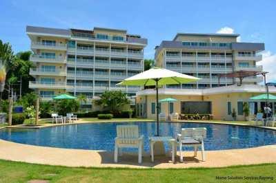 1 bedroom condo close to Ao Khai beach in Rayong.  Now 1,600,000 THB