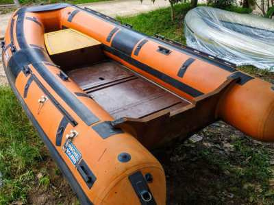 5m. RIB from Germany for sale + steel Trailer