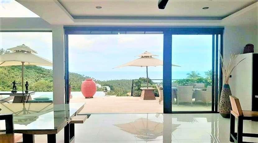 For sale Sea view villa in Lamai Koh Samui - 3 bedrom with pool