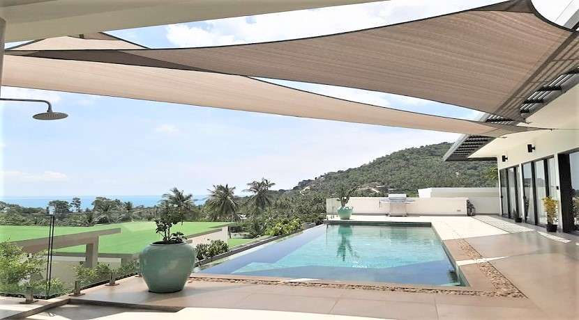 For sale 5 bedroom villa with sea view in Chaweng Noi Koh Samui