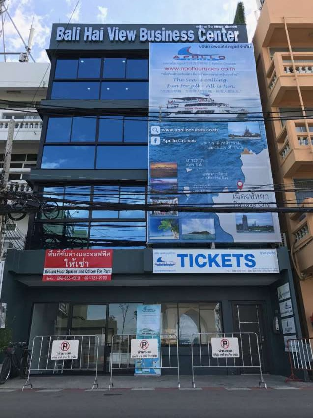 Advertising Board For Rent At Bali Hai Pier Pattaya