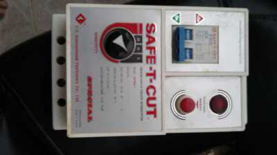 electric  safety breaker box