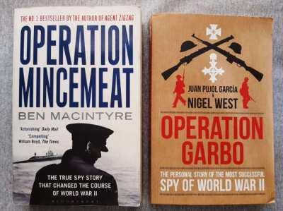 Operation Garbo - Nigel West / Operation Mincemeat - Ben Macintyre