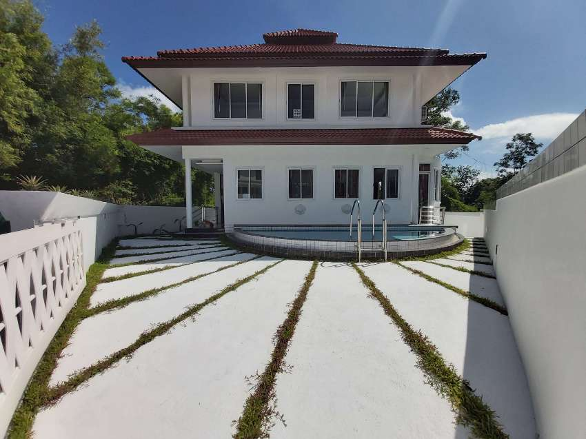New 4bedroom 4bath pool villa on the beach Rent with option to buy