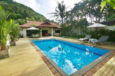 Peaceful 3 bedrooms pool villa in Rawai, Phuket
