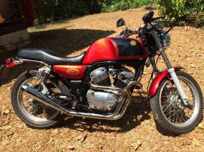 Classic Yamaha SRV250 Café Racer - Fully Restored