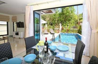 Tropical & Private 2 Bedroom, 2 Bathroom Pool Villa in Krabi, Thailand
