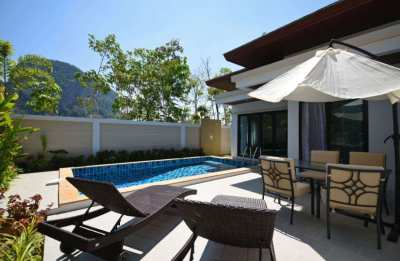 Tropical & Private 2 Bedroom, 2 Bathroom Pool Villa in Krabi, Thailand