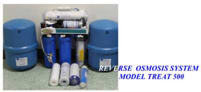 Reverse Osmosis Water Filter - 500 l/day - Demo Model