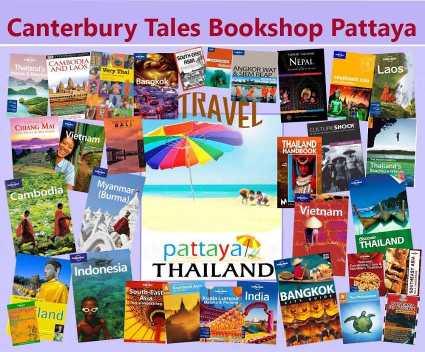 Books into Canterbury Tales bookshop - Book exchange - Pattaya.