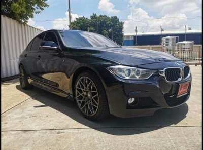 ขายรถ BMW 320D M SPORT ปี 2015 ชุดแต่ง M ล้อแม็ก M 4 ขอบล้อ18' ยางใหม่