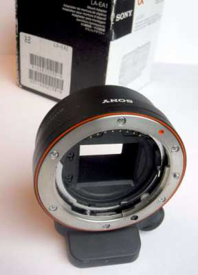 Sony LA-EA1 adapter - Sony Alpha to NEX