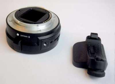 Sony LA-EA1 adapter - Sony Alpha to NEX