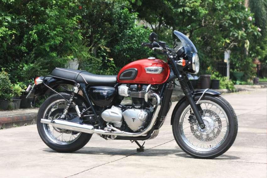 Triumph Bonneville T100 2019 Excellent condition