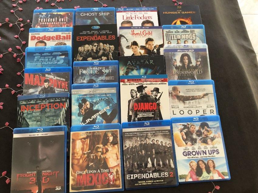 27 Blu-Ray Discs, 6 Original, 12 Copy Discs, 1 Box Set Series 241