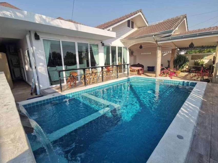 Centrally located pool villa Hua hin for rent