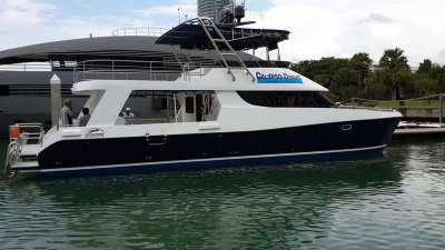 High speed catamaran for up to 72 passenger