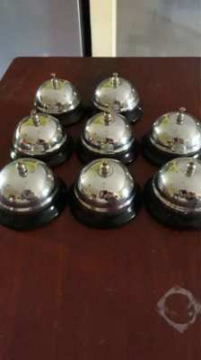 8 reception bells or table bells