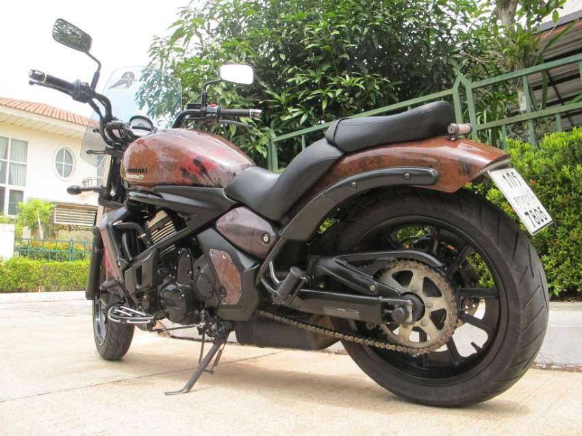 REDUCED - Vulcan S 650 Custom_Rare_Great Condition