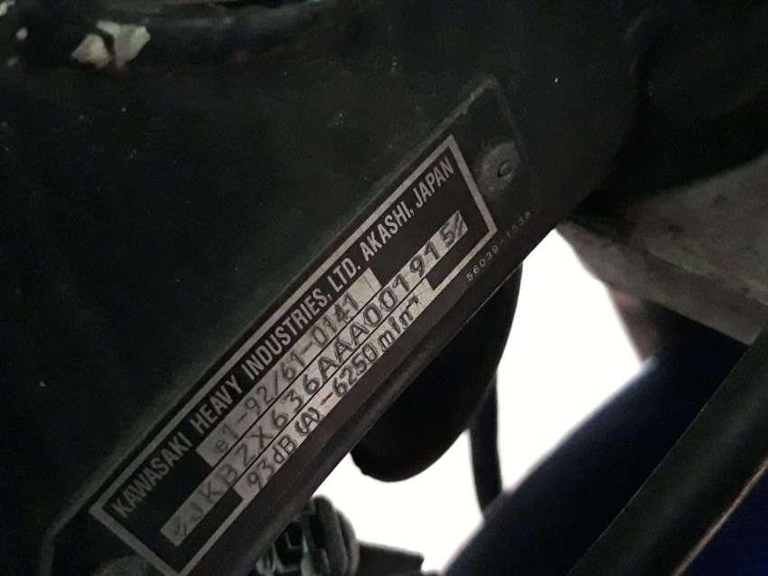 Kawasaki ZX6R ( exchange also )