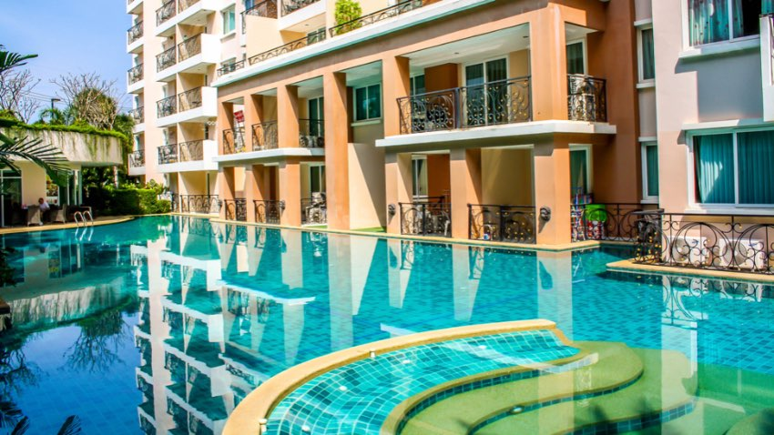 Apartment in Pattaya in a beautiful resort for SALE