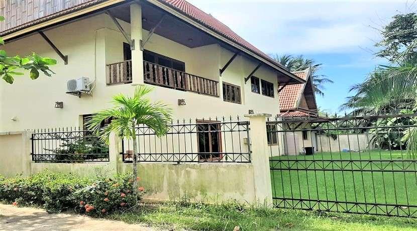 For sale Beachfront land with 5 villas in Lipa Noi Koh Samui