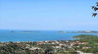 For sale 3000 sqm sea view land in Bophut Koh Samui