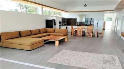 For sale 3 bedrooms pool beachfront villa in Lipa Noi Koh Samui