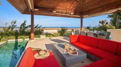 For sale 4 bedroom beachfront villa in Laem Set Koh Samui