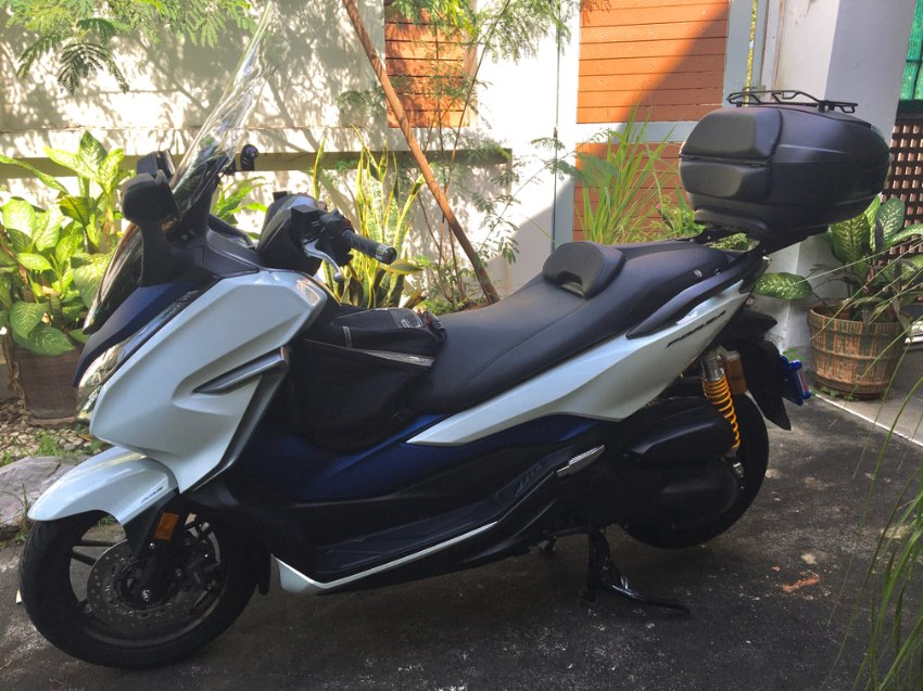 2018 Honda Forza 300 in excellent condition - many extras