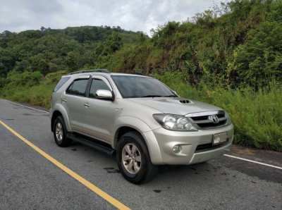 Toyota Fortuner 3.0 V AT 4WD 2007
