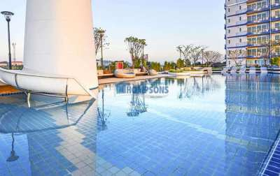 Modern 2 Bed, 2 Bathroom  Condo, Jomtien for sale
