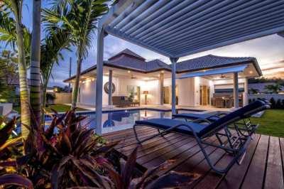 New luxurious award winning pool villa for sale
