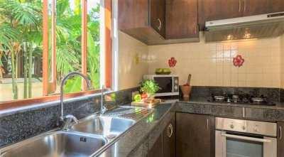 For sale 4 bedroom beachfront villa in Bang Kao Koh Samui