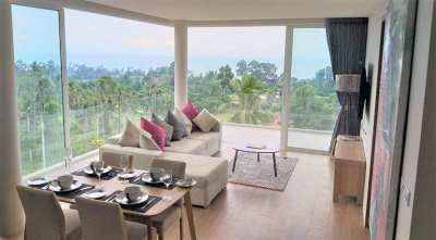 For sale 2 bedroom apartment with sea view in Bang Por Koh Samui