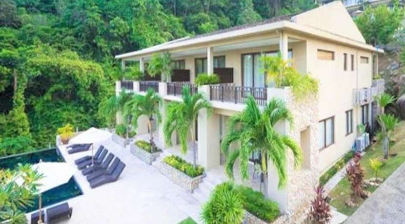 For sale 2 bedroom duplex townhouse with sea view in Chaweng Koh Samui