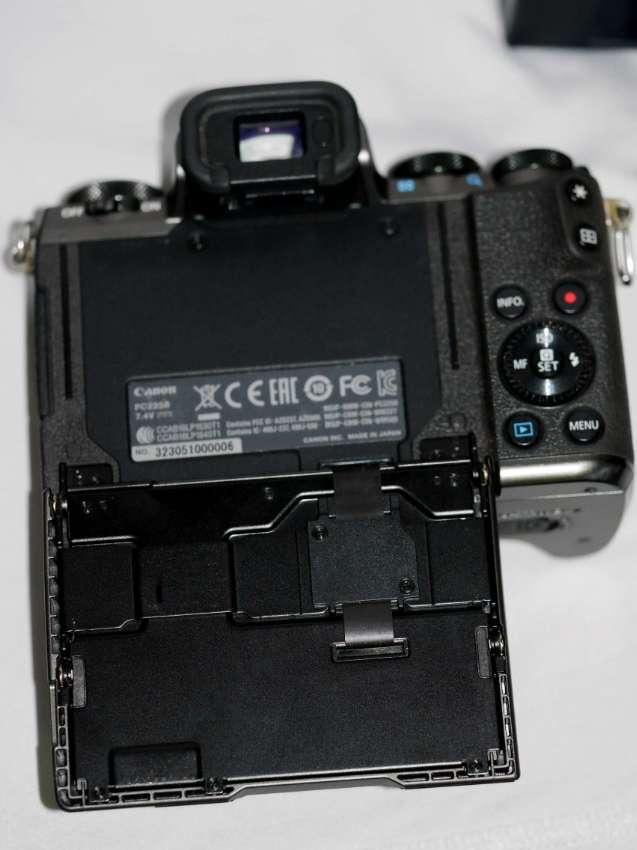 Canon EOS M5 Mirrorless Camera Body Black