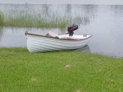 Clinker built Sailing Dinghy