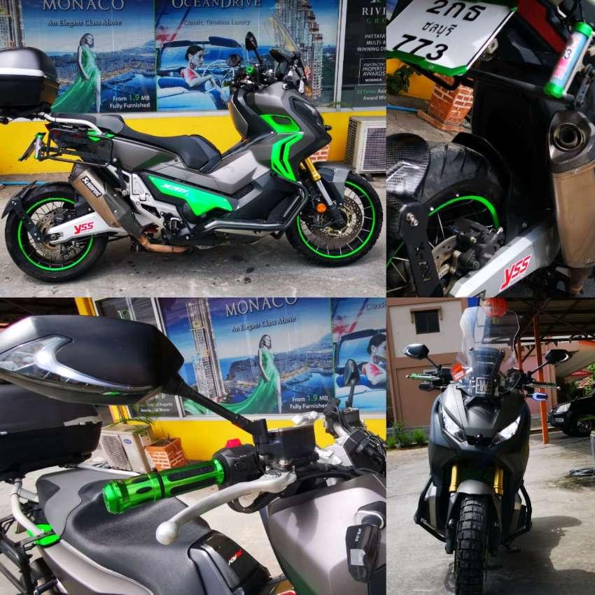 Honda XADV 750cc 2017 26000Kms Full options