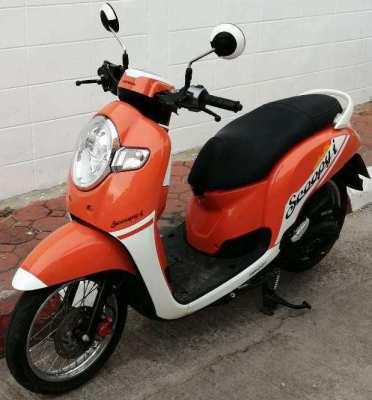 10/2018 Honda Scoopi 4.xxx km - 37.900 ฿ Finance by shop