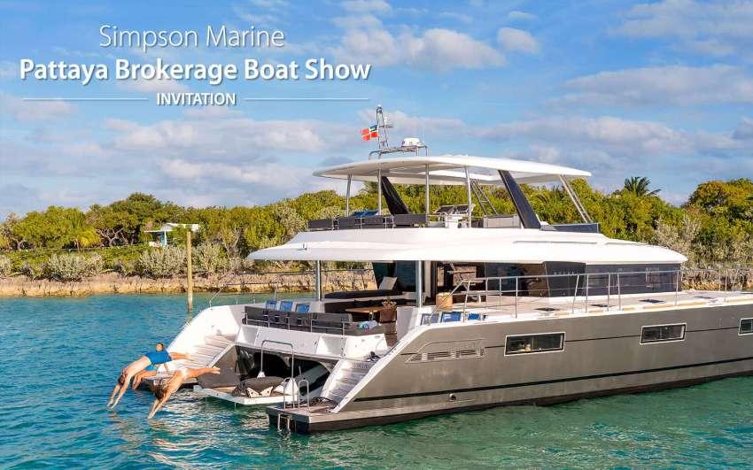 Simpson Marine Brokerage Boat Show