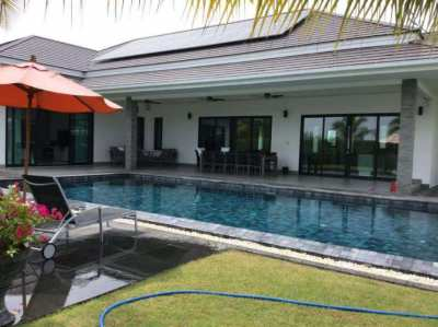 Luxurious high end pool villa with private finance option for sale