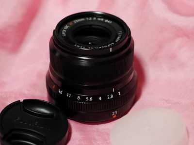 FUJIFILM Fuji Fujinon XF 23mm F/2 R WR Black Prime Lens