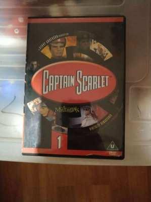 Childrens Genuine DVD's – Thomas,Cpt  Scarlet,Thunderbirds & Stingray