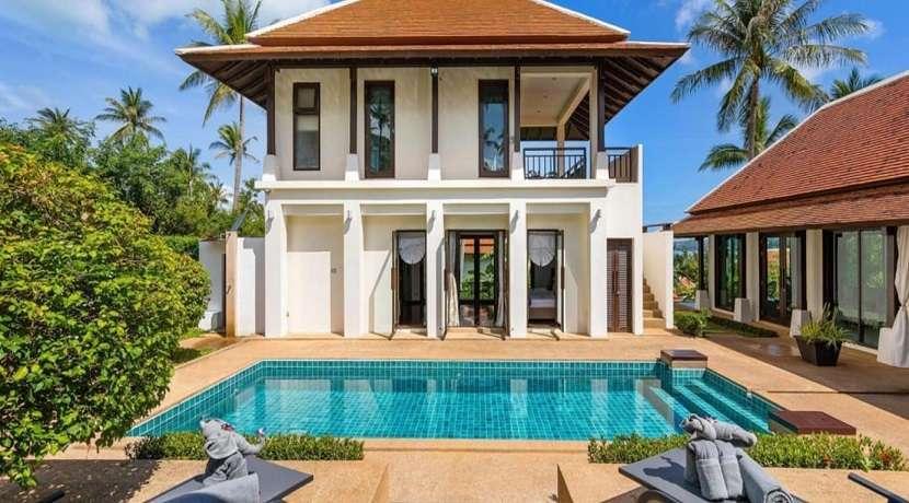 For sale 4 bedroom pool villa in Bangrak Koh Samui close to the beach