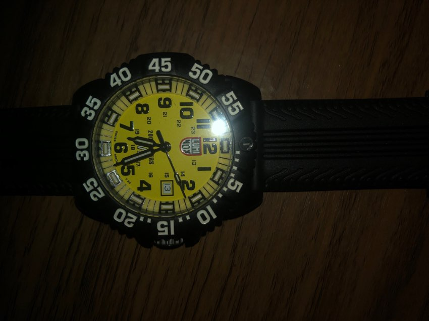Luminox limited edition dive watch