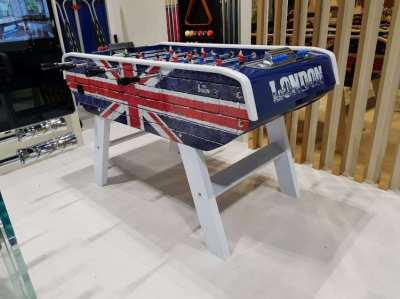 Babyfoot Bonzini B90 – UK Union Jack Brick design Foosball Table