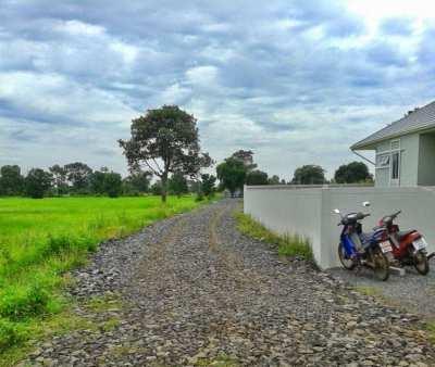 For sale house plot on quiet development in Buriram